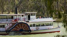 Paddle Steamer, Mildura, The Murray, Victoria, Australia
