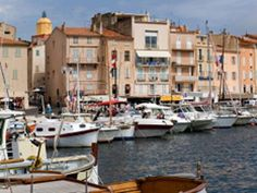 Nestled along the French Riveria and a short drive from Nice or Cannes, St. Tropez is a lively coastal town in the summer. Vacationers delight in sandy beaches, culture, gourmet food and hot nightlife.