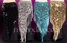 Want the silver and the black SO BAD!!!  They'd be SUCH awesome outfit staples!! XD *swoons*  $32.99  Crocheted Palette Hip Scarf 2084