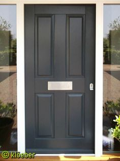 More Traditional Style For Front Door. Kloeber.