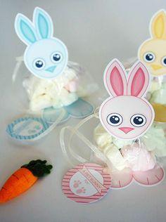 Cómo hacer bolsitas de Pascua