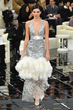 Kendall Jenner at Chanel - Front Row Fashion at Every Spring 2017 Haute Couture Show - Photos