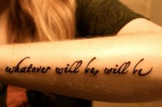 que sera sera whatever will be will be