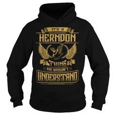 Awesome Tee HERNDON HERNDONYEAR HERNDONBIRTHDAY HERNDONHOODIE HERNDONNAME HERNDONHOODIES  TSHIRT FOR YOU Shirts & Tees