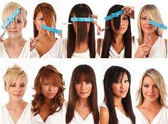 Crea Clip is a unisex handy two piece device that lets you cut your hair at home without having the struggle of cutting freehand. Trim Your Own Hair, How To Cut Your Own Hair, Cut Hair At Home, Hair Cutting Techniques, How To Cut Bangs, Cut Side Bangs, Diy Haircut, Long Hair Cuts, Cool Haircuts