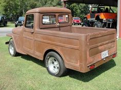 1948-wagon-tender-athens-al08 Jeep Cars, Jeep Truck, Jeep Pickup, Pickup Trucks, Vintage Trucks, Old Trucks, Willys Wagon, Jeep Willys, Jeep Scout