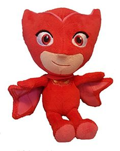 PJ masks are on their way - into the night to save the day! this Super soft & cuddly version of the high flying hero Owlette from the hit TV series PJ masks comes in the perfect size to take wit...