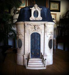 Miniatures by June Clinkscales Dollhouse Furniture | Château - Du Petite Chansonnette