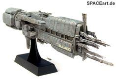 """http://spaceart.de/produkte/al139.php ... Die Sulaco ist eines der """"schönsten"""" und eindrucksvollsten Raumschiffe der Filmgeschichte ... finde ich jedenfalls :-) ... Hier bieten wir einen tollen Modell-Bausatz der U.S.S. Sulaco vom Hersteller Halcyon. Kennt Ihr Halcyon noch? Die haben vor sehr vielen Jahren ja wirklich tolle Alien Modelle herausgebracht."""