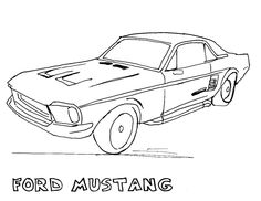 dub cars coloring pages - photo#14