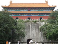 Temple of the Ming Dynasty in Nanjing China
