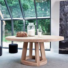 bochum esstisch runder esstisch sanremo eiche 104 cm | einrichtung, Esstisch ideennn