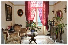 Photos de Bed and Breakfast D'Angelo Decor, Home, Bed And Breakfast, Curtains, Bed