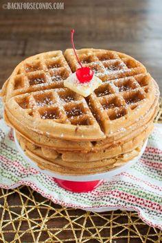 The BEST Homemade Waffles