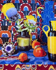 "Fotograaf: Daniel Gordon - The Green Line, 2012-Present - Artichokes and Oranges  50"" x 40"", C-Print, 2013"