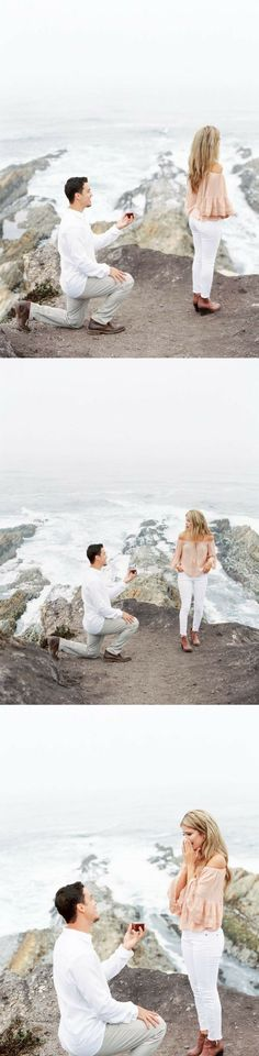 She thought they were doing a photoshoot at Santa Margarita Ranch, but she had no idea he was planning to pop the question!