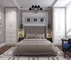 Bedroom Storage For Small Rooms - Unity Fashion Bedroom Built Ins, Small Master Bedroom, Master Bedroom Design, Modern Bedroom, Built In Bedroom Cabinets, Wardrobe Design Bedroom, Closet Bedroom, Bedroom Storage, Home Decor Bedroom