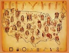 native american people -where the tribes lived