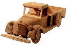 Caminhão de madeira feito em casa | eHow Brasil