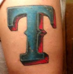 11 Best Texas Rangers Tattoos Images In 2016 Tatoos Baseball