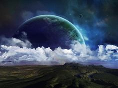 Earth and space hd wallpaper www.wallpapeers.net                                                                                                                                                                                 More
