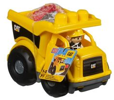 Buy 2006 Mega Bloks Large Yellow CAT Dump Truck With Excavator Arm at online store Dump Trucks, Toy Trucks, Toys For Boys, Kids Toys, Little Blue Trucks, Play Vehicles, Getting Played, Yellow Cat, Bright Yellow