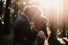 Vibrant-Heartfelt-Bohemian-Wedding-Bride-Groom-Kiss