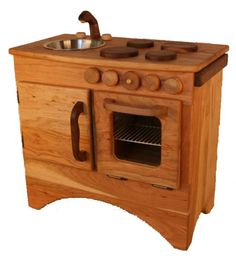 Gorgeous Wooden Play Kitchen Waldorf Inspirations Pinterest