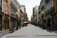 Calle de Triana, one of the oldest parts of Las Palmas in Gran Canaria
