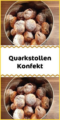 Quark stollen confectionary - Ingredients 100 g butter 75 g sugar 150 g curd 300 g flour 1 tsp cinnamon ½ pack baking powder 50 g almond (s) chopped 150 g raisins n occupy. Mix the flour with the baking powder and spices and set aside. The … Read More - Baking Recipes, Cake Recipes, Nutella Cupcakes, Delicious Desserts, Yummy Food, Christmas Biscuits, Best Sweets, Winter Desserts, Recipe Today