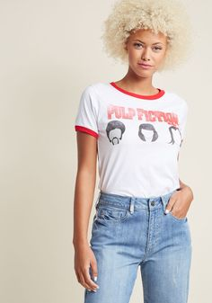 Same Shirt Over There Graphic T-Shirt in XXL, #ModCloth