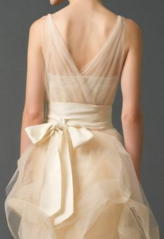 Vera Wang; LOVE this dress..