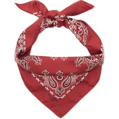 Saint Laurent Silk bandana scarf ($295) ❤ liked on Polyvore featuring accessories, scarves, silk handkerchief, silk shawl, silk bandana, silk scarves and print scarves
