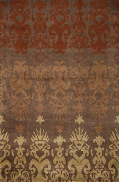 mission style area rugs | habithb-06brn-habitat-06-brown.jpg