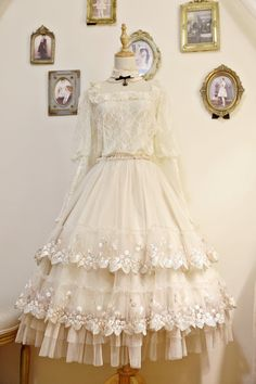 This Time -My First Love- Sweet Classic Lolita Skirt Underskirt