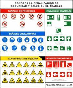 símbolos de salud ocupacional