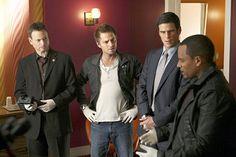 Mac Taylor, Danny Messer, Don Flack, and Sheldon Hawkes :)