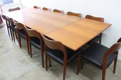 Niels Moller Danish Dining Suite - The Vintage Shop
