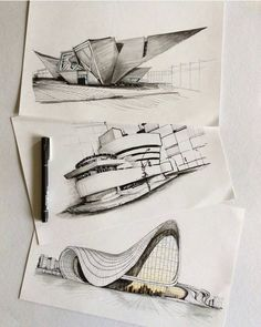 Interesting Find A Career In Architecture Ideas. Admirable Find A Career In Architecture Ideas. Organic Architecture, Concept Architecture, Architecture Design, Parametric Architecture, Sketches Arquitectura, Portfolio D'architecture, Arquitectos Zaha Hadid, Architecture Drawing Sketchbooks, Architecture Sketches