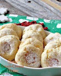 Apricot Cream Cheese Cookies – Can't Stay Out of the Kitchen Shaped Cookies Recipe, Cheese Cookies Recipe, Thumbprint Cookies Recipe, Cream Cheese Cookies, Ricotta Cookies, Fruit Cookies, Cookie Desserts, Yummy Cookies, Cookie Recipes