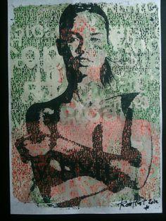 #LADY #art #japanese #hand #print #RootCat #love #bytes #ladies #typoart #twitterart extended