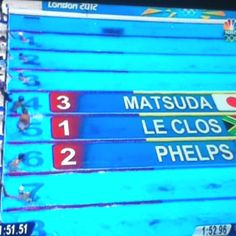 We're proud of you phelps :)