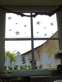 1000 bilder zu fensterdeko auf pinterest basteln weihnachtsfenster und dekoration. Black Bedroom Furniture Sets. Home Design Ideas