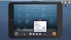 How to Record AirPlay Mirroring Sessions with the Reflector App. Reflector app is available for desktops (not devices) and it mirrors your device to your desktop wirelessly.