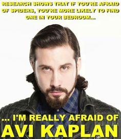 Hahahaha!!!!!!!! Avi --- I'd actually still be afraid of finding a random hottie in my bedroom but still FUNNY!