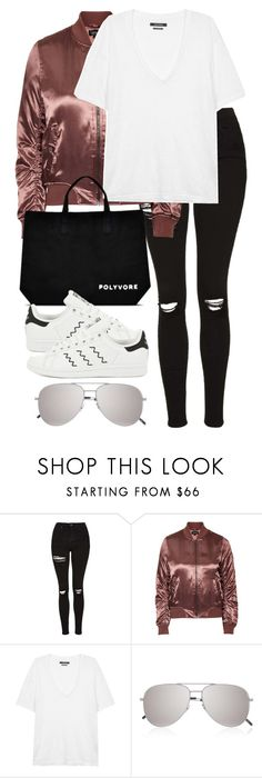 """""""#ContestOnTheGo #ContestEntry"""" by elenaday ❤ liked on Polyvore featuring Topshop, Isabel Marant, Yves Saint Laurent, adidas, contestentry and ContestOnTheGo"""