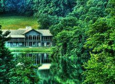 Peaks of Otter Lodge Restaurant......Blue Ridge Parkway, VA
