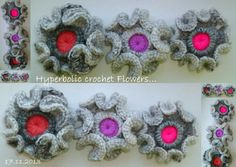 I can see these around the edge of a wrap... Happy Hooking xx