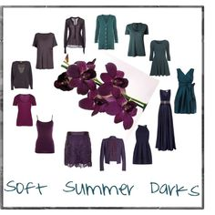 """Soft Summer Darks"" by ashleyrhardt on Polyvore"