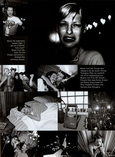 Our Girl Backstage - Harper's Bazaar US (1995)